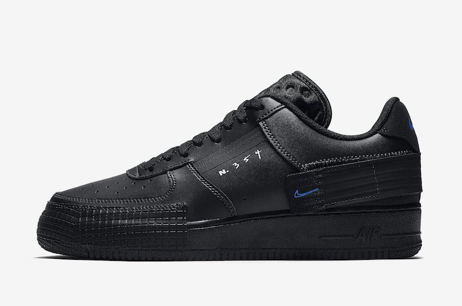 Nike,Air Force 1,af1,发售  解构设计 + 黑武士色调!全新 Air Force 1 Type 即将发售