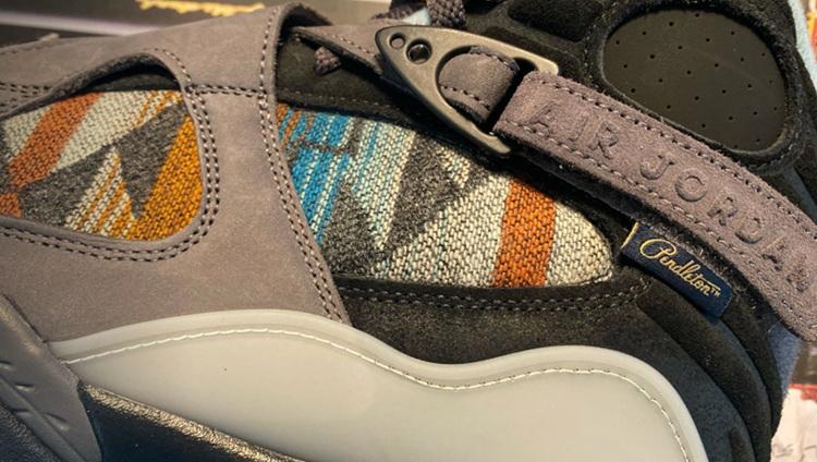 Air Jordan 8,AJ8,N7 Pendleton,  民族风格浓厚!全新 Air Jordan 8 N7 系列细节曝光!