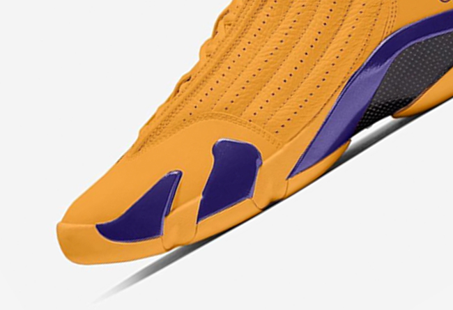 AJ14,Air Jordan 14,487471-700, 紫金湖人配色首次曝光!全新 Air Jordan 14 将于明年发售