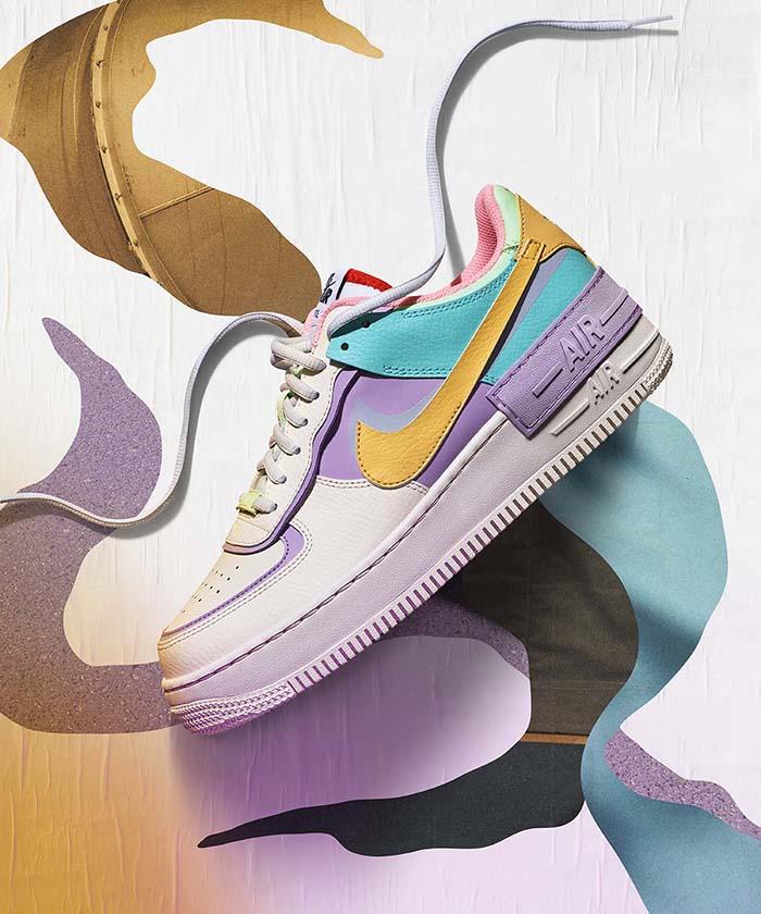 Nike,Air Force 1,CI0919-400 小姐姐上脚的这款 Nike 新品,与 Sacai 联名风格也太像了!