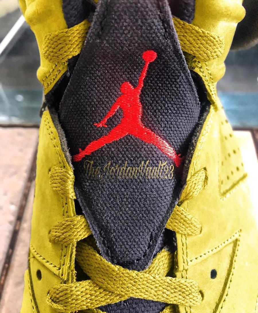 Travis Scott,Air Jordan 6,AJ6 第二双 Travis Scott x AJ6 传闻明年发售!你更喜欢哪双?