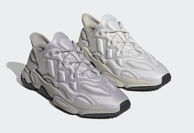 adidas,Ozweego,发售,FU7646,FU764 科幻银色装扮!adidas Ozweego 全新配色即将发售