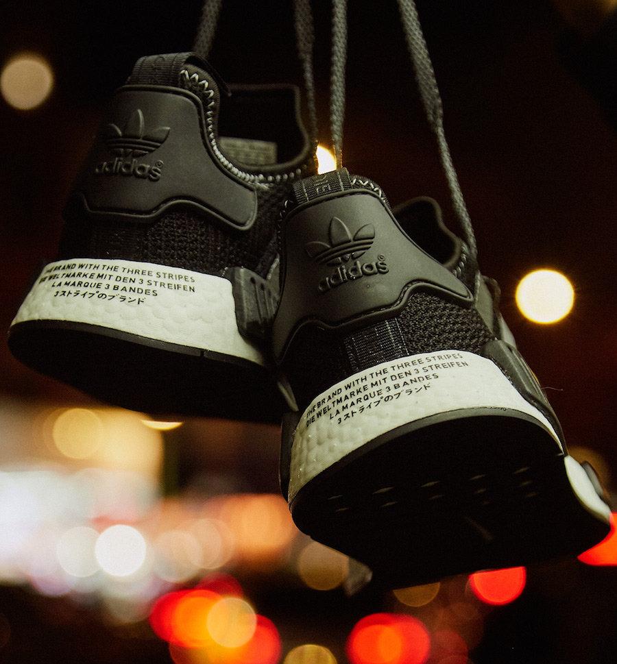 adidas,NMD R1,发售,EH2749 尊贵黑金装扮!Shoe Palace x NMD R1 实物美图抢先看!