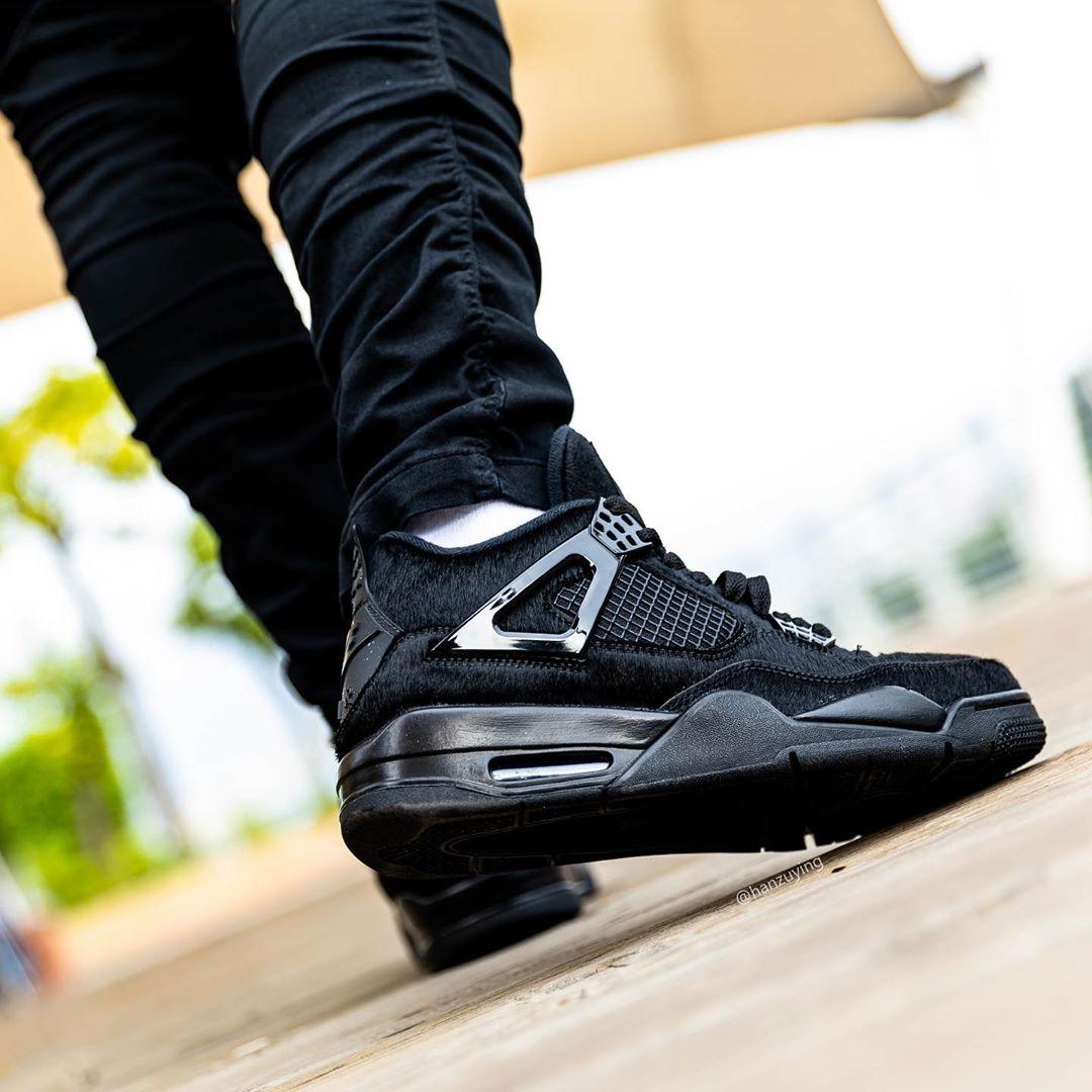 Air Jordan 4,aj4,发售,CU1110-010  罕见马毛材质 + 金属光泽鞋扣!这双 Air Jordan 4 你冲不冲?