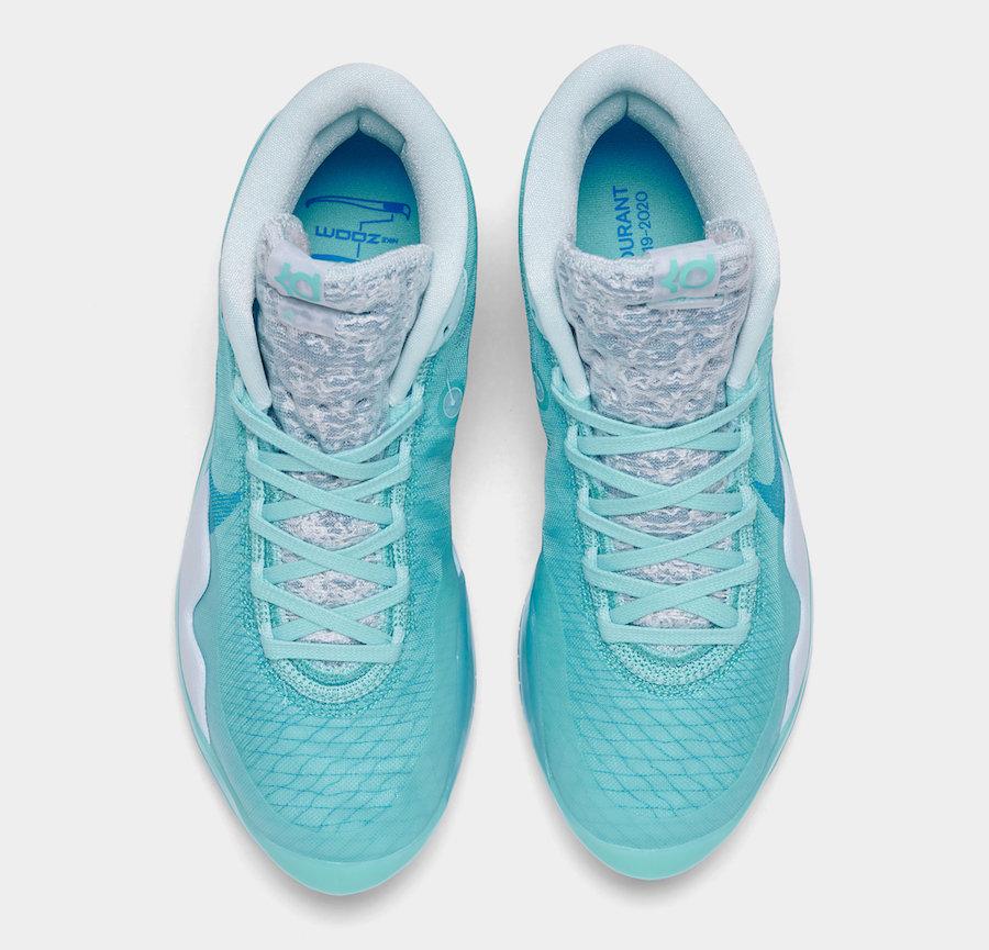 Nike,KD 12,发售 清爽冰蓝色调!全新 Nike KD 12 下月发售!