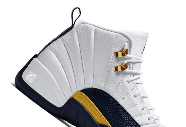 Air Jordan 12,aj12,发售 金扣还是黑曜石?这双 Air Jordan 12 有点好看!