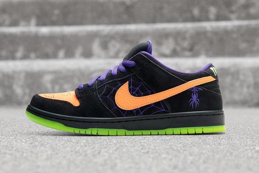 Dunk SB,Nike,发售  难得一见的丰富细节!万圣节 Dunk SB 本周末发售
