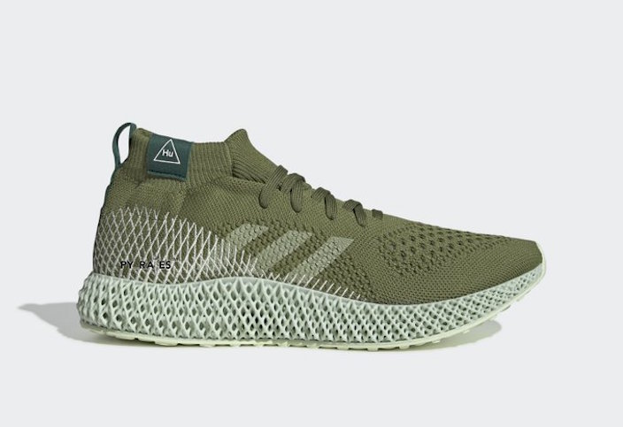Pharrell Williams,adidas,4D,发售 双色齐发!菲董携手 4D 科技打造重磅新品,近期即将来袭!