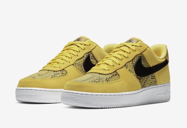 Nike,Air Force 1 Low,Yellow Sn 「黄蛇」配色即将发售!这双 Air Force 1 你打几分?