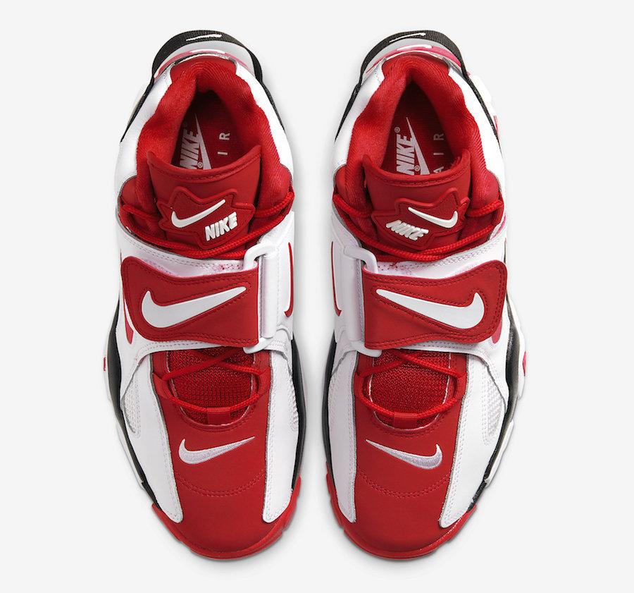 Nike,Air Barrage Mid,发售,AT7847 公牛风格配色!黑白红 Nike Air Barrage Mid 即将发售
