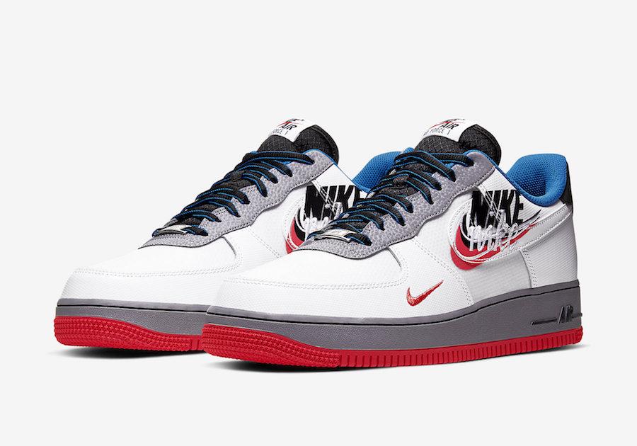 Air Force 1,AF1,Nike,发售 这双 Air Force 新品钩子真不少!小编眼睛都数花了!
