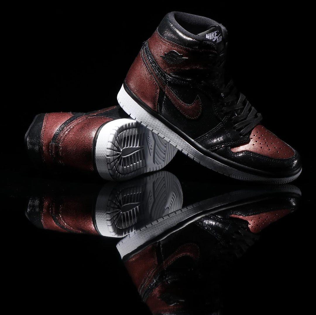 AJ1,Air Jordan 1,Air Jordan 1 独特鞋面材质,废土风金属质感!全新主题 Air Jordan 1 本月发售!