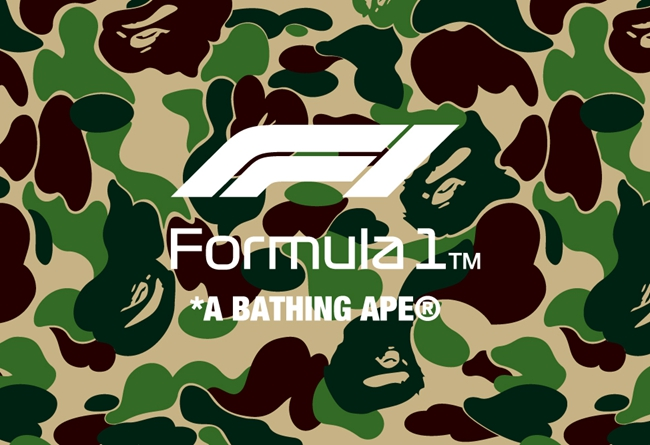 BAPE®,F1® 速度与激情!BAPE® 再度携手 F1® 打造全新联名系列!