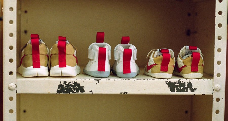 Tom Sachs,Nike,Mars Yard,发售  「火星宝宝鞋」Tom Sachs x Nike 周六发售!市价翻了 3 倍!