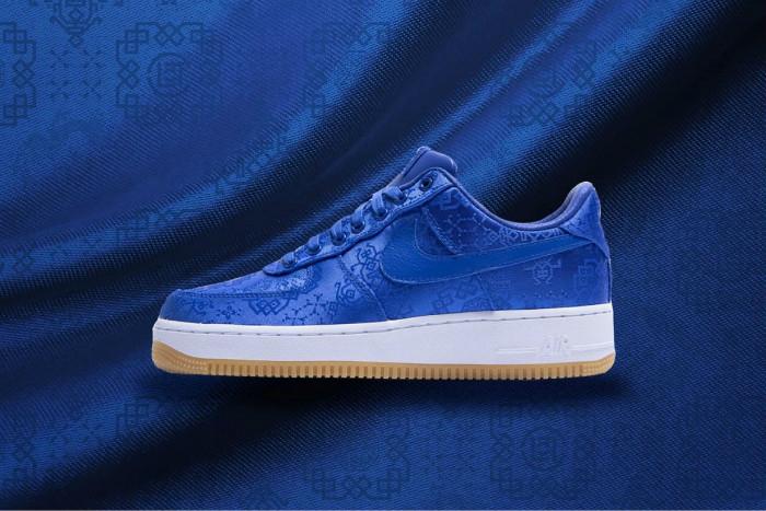 蓝丝绸,CLOT,Nike,Air Force 1,AF1, 周董上脚蓝丝绸!冠希 CLOT x AF1 完整入手信息来了!