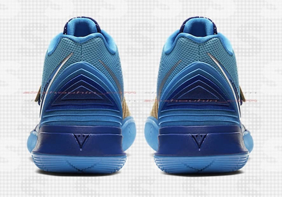 Concepts,Nike,Kyrie 5,发售 还是埃及主题!Concepts x Kyrie 5 全新配色下周六发售