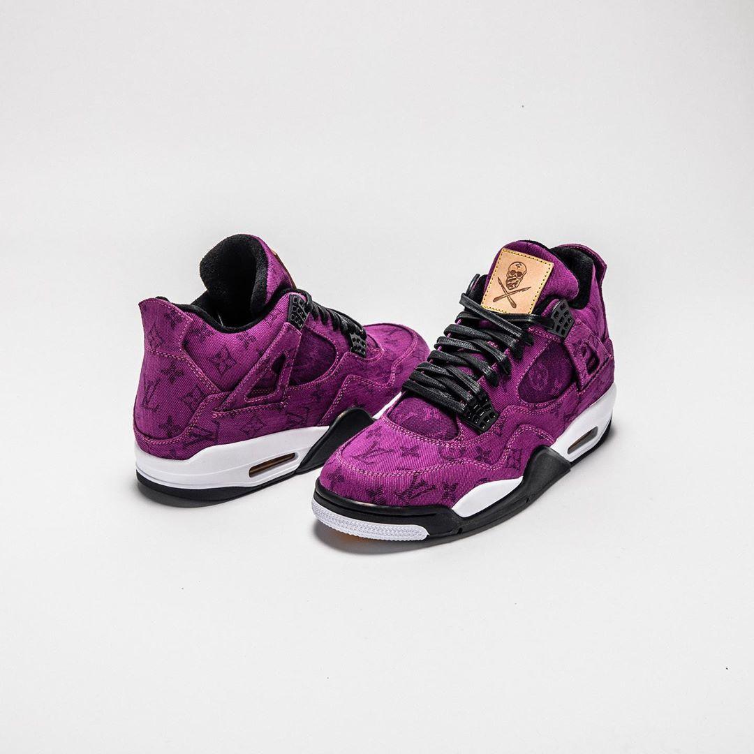 TheShoeSurgeon,发售 限量 11 双,发售价就 3 万!LV x Air Jordan 4 你肯定没见过!
