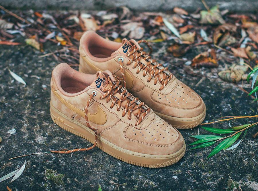 Air Force 1,AF1,Nike,发售 每年秋冬必备配色!牛巴革小麦 Air Force 1 你打几分?