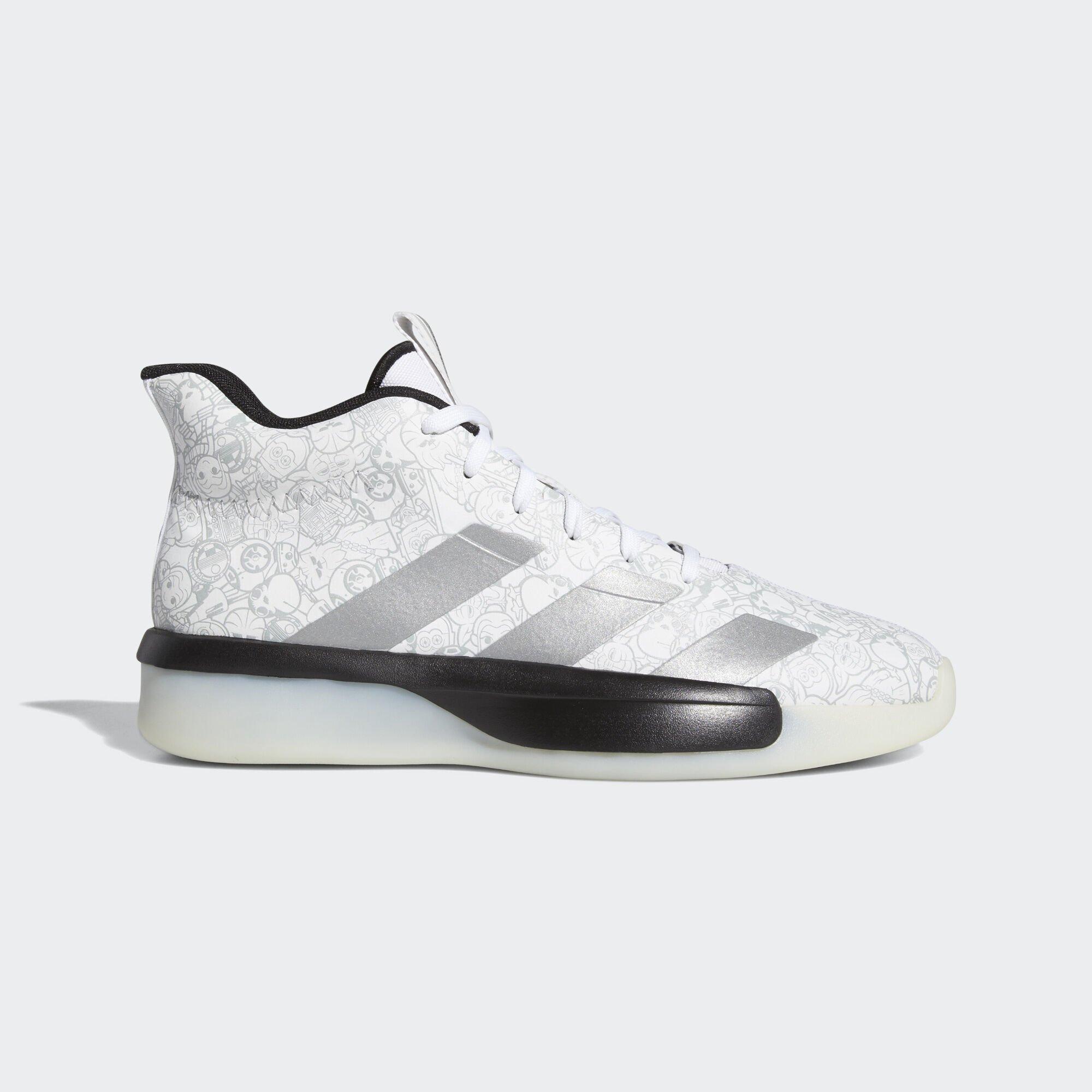 adidas,星球大战,发售 阴阳设计 + 可爱涂鸦!这双星战 x adidas 联名球鞋有点酷