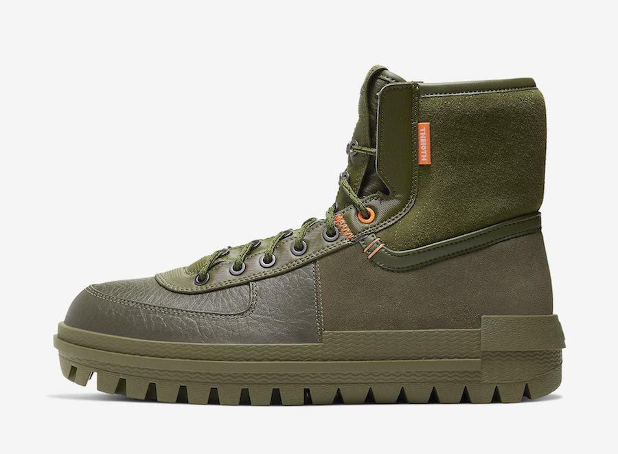 Air Force 1,AF1,Nike,发售,BQ5240 保暖增高还有解构元素!这双军靴版 Air Force 1 真有点东西