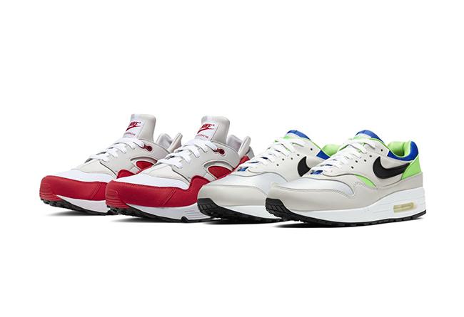 Nike,DNA,发售,Air Max 1,Air huar 元年配色互换!Nike「恶搞套装」官图释出,打几分?
