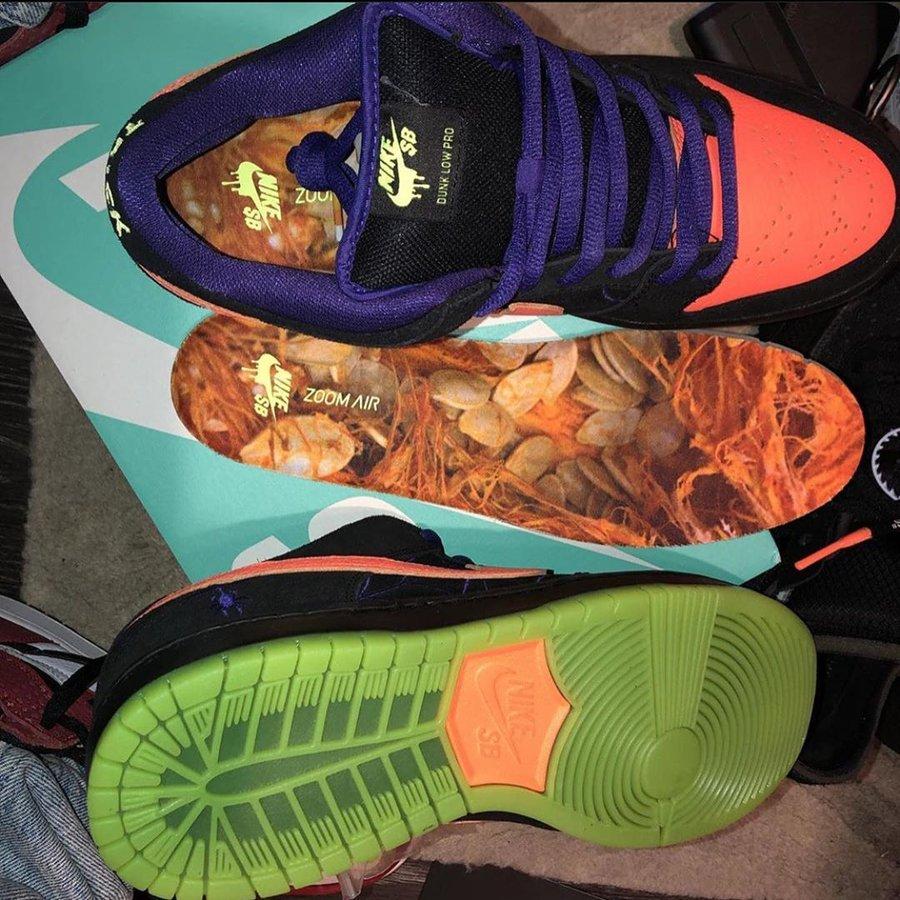 Nike,SB Dunk Low,BQ6817-006,发售 周董上脚万圣节 SB Dunk Low!下周发售,等不及了!