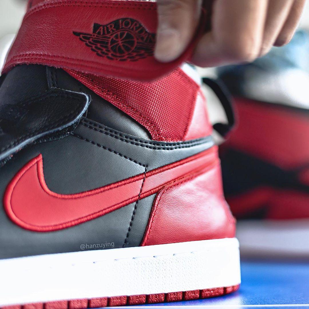 Nike,Air Jordan 1,aj1,发售 禁穿 + 黑脚趾,又见阴阳 AJ1!单手就能穿脱,你打几分?