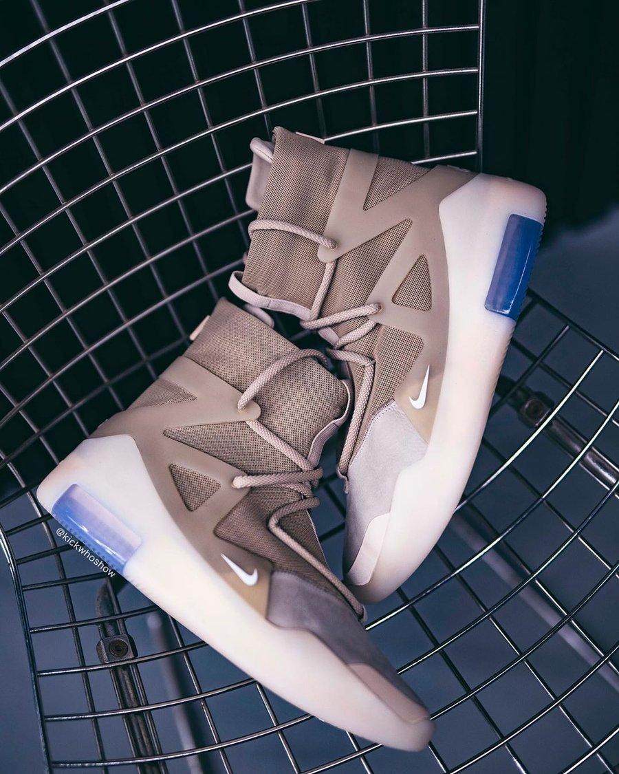 Nike,Air Fear of God 1,AR4237- 上脚有点好看!大地色 Air Fear of God 1 下周就发售