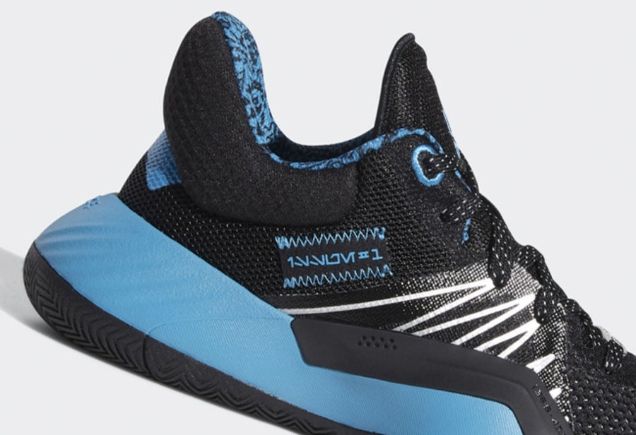 D.O.N. ISSUE #1,adidas,发售  蓝色光剑配色!米切尔 D.O.N. ISSUE #1 也有星战联名新品!