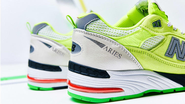 小众,精品,Aries,New,Balance,991,英产 小众精品! Aries x New Balance 991 英产即将发售!