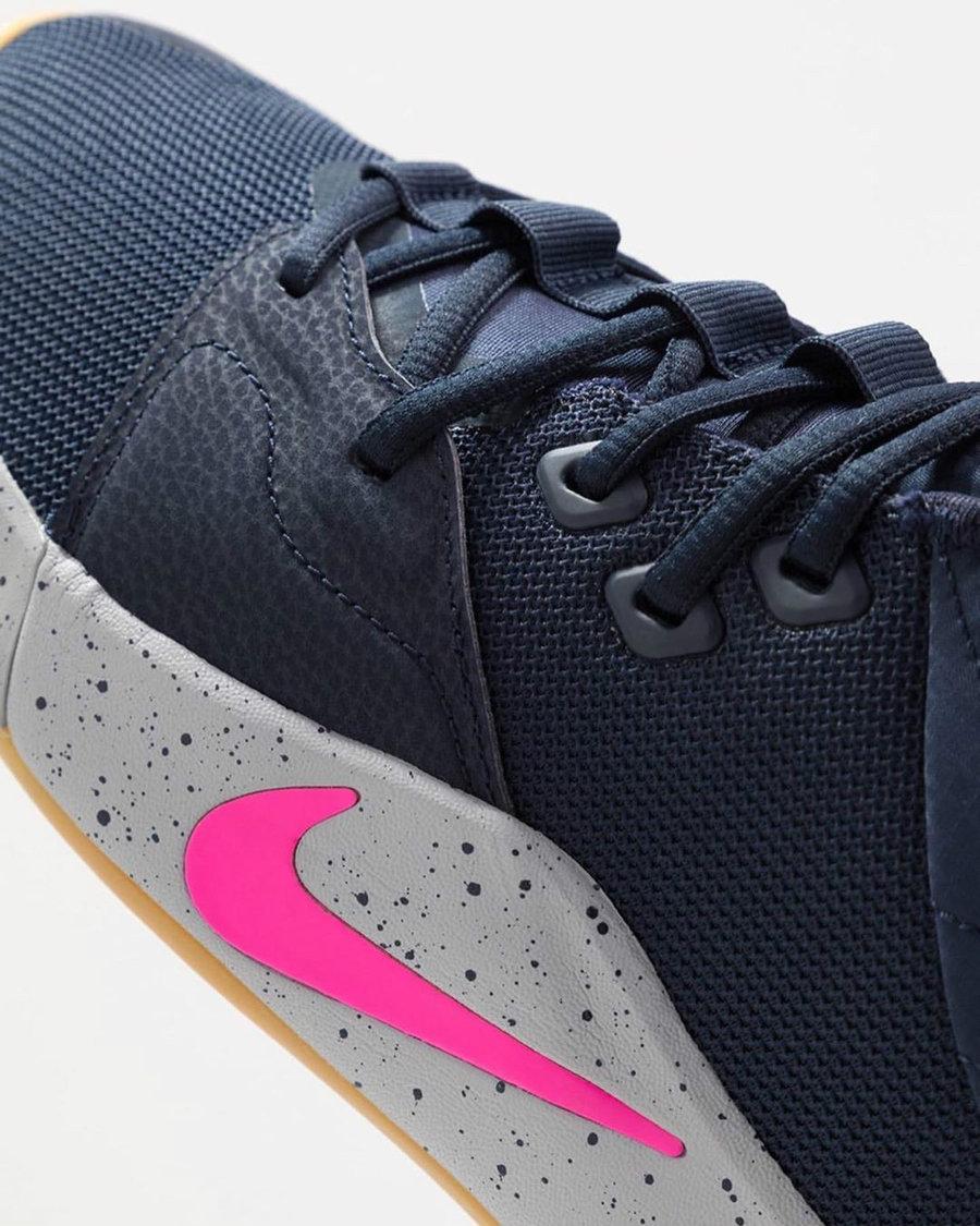 Nike,PG 3 撞色荧光粉!泡椒 Nike PG 3 新品首次曝光!