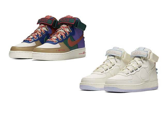 Air Force 1,AF1,Nike,发售 彩色主题 + 魔术贴设计!这两双 Air Force 1 让人一眼种草
