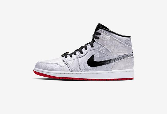 Air Jordan 1 Mid,AJ1 mid,发售,CU 「白丝绸」AJ1 Mid 官图释出!这次好像和 CLOT 没什么关系...