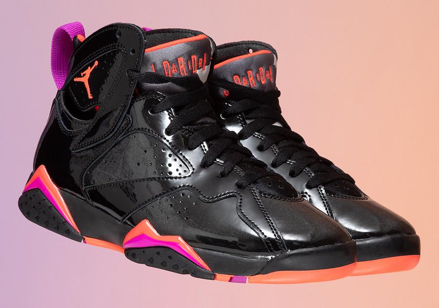 Air Jordan 7,AJ7,发售,313358-006 「万圣节」Air Jordan 7 美图来了!炫彩撞色你打几分?