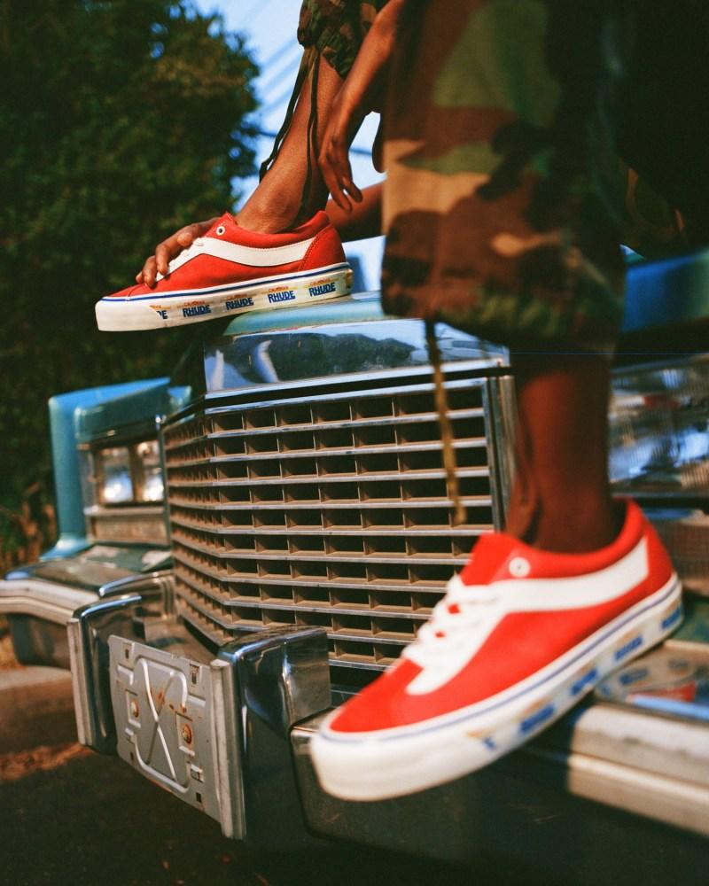 RHUDE,Vans,发售 以加州车牌为灵感!三款 RHUDE x Vans 最新上脚图释出!