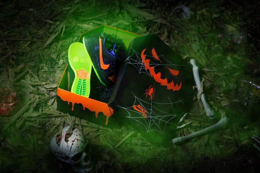 Nike,SB Dunk Low,发售,BQ6817-006 万圣节 Dunk SB 下周发售!还有中国限定鞋盒!