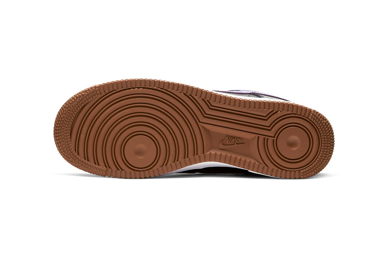 Nike,AF1,Air Force 1,Shibuya,C 有透明鞋面,还有撞色刺绣 Logo!3 双涩谷限定 AF1 实在太帅了!
