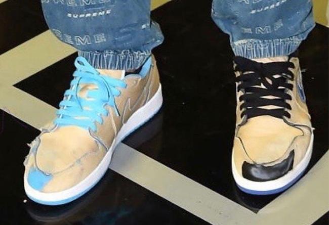 Nike,Air Jordan 1 Low,aj1 low, 刮刮乐属性?Nike SB x AJ1 Low 新配色实物曝光,发售日期确定!