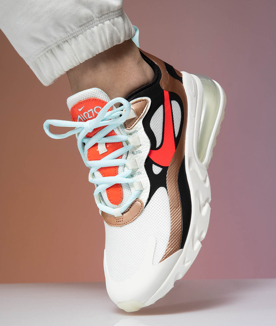 Nike,Air Max 270,React,发售 全新 Air Max 270 React 上脚图释出,有点好看!内含官网链接!