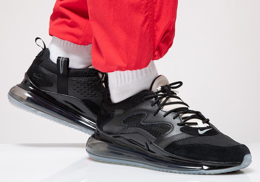 Nike,Air Max 720 OBJ,CK2531-00 更酷更百搭!纯黑 Air Max 720 OBJ 下周发售