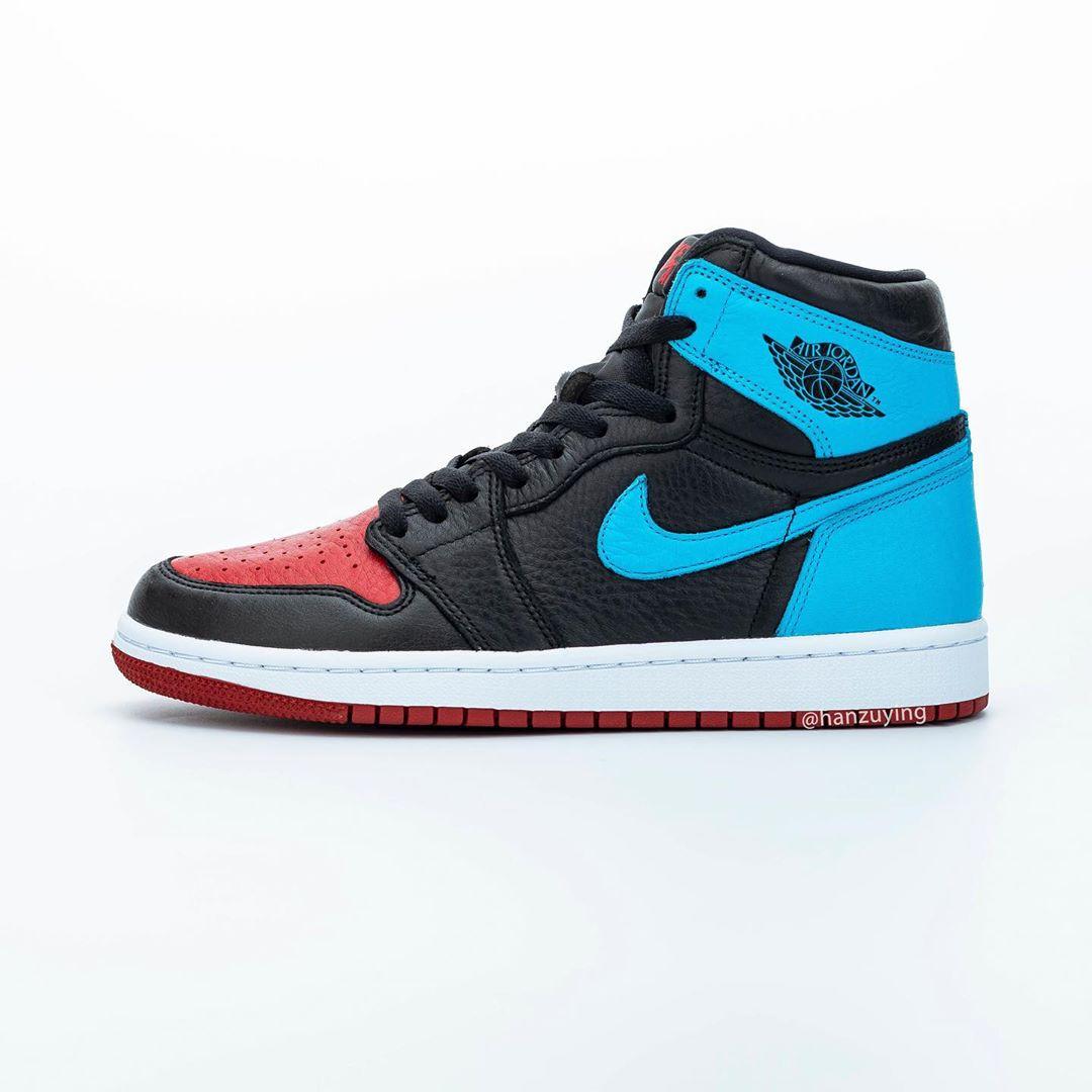 AJ1,Air Jordan 1,CD0461-046,发售 黑红、黑蓝 AJ1 合为一体!全新配色明年年初发售