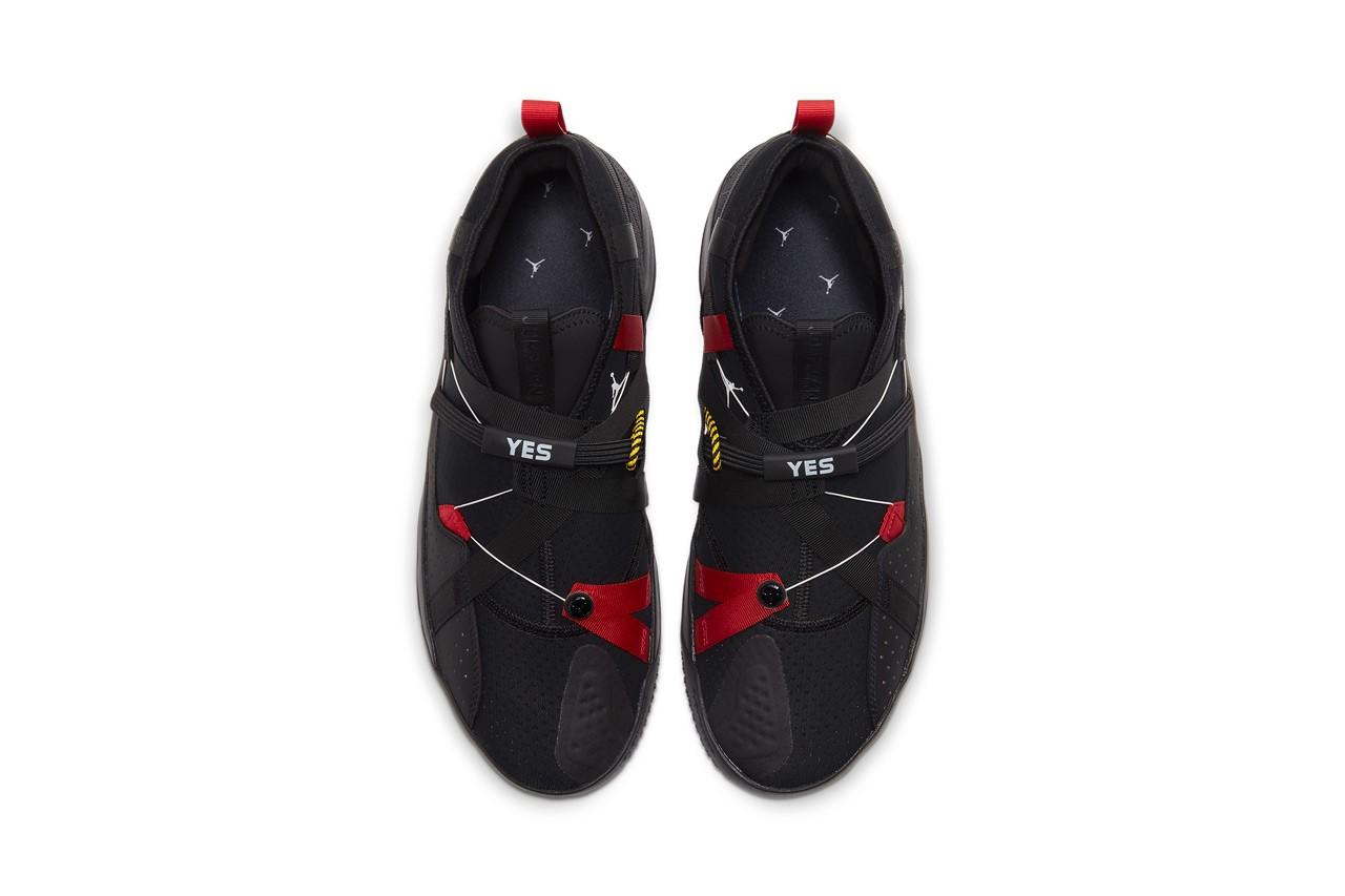 Jordan Protro 32.9,发售,Jordan  AJ33 兄弟鞋款!Jordan Protro 32.9 黑红配色现已发售