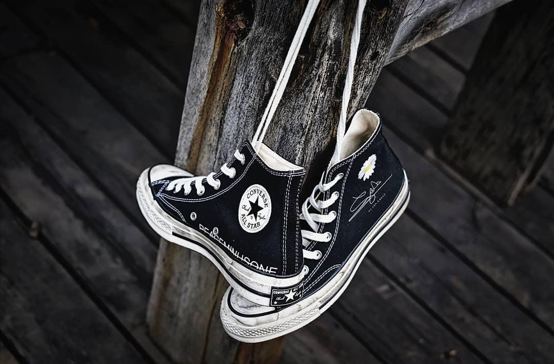 PEACEMINUSONE,Converse,发售 刚退伍就放大招!权志龙 PMO x Converse 美图抢先看!
