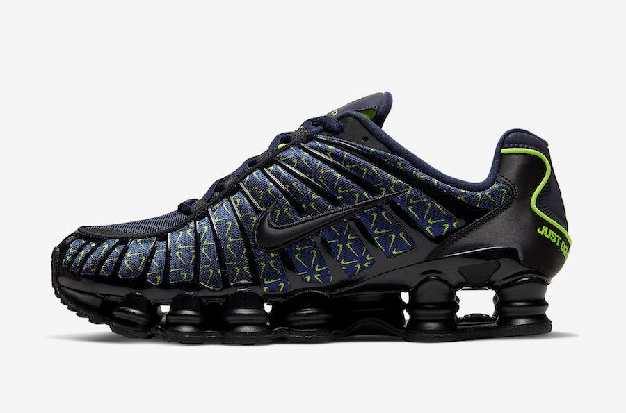 Nike,Shox TL,发售 荧光色花纹点缀!全新 Nike Shox TL 近期即将发售!