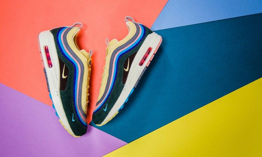 Nike,ASICS,Air Max 1/97,Sean W 灯芯绒神鞋再现!1/97 设计师曝光最新「三方联名」,配件超丰富