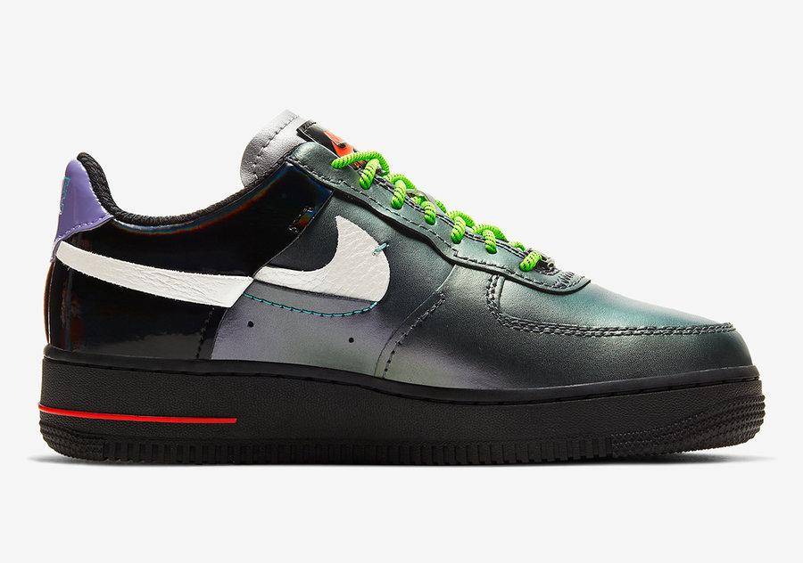 Nike,AF1,Air Force 1,CT7359-00 小丑配色 + 惊艳细节!全新断钩 AF1 将于近日发售