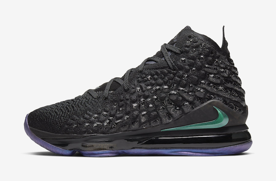Nike  变色龙 LeBron 17 官图释出!将于 12 月正式发售