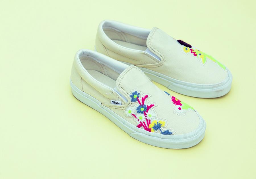 BILLY's,Vans,Slip-On,发售 清新花卉刺绣!BILLY's x Vans Slip-On 现已发售