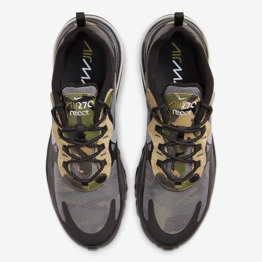 Nike,Air Max 270,发售 大面积蝉翼覆盖!这双迷彩 Air Max 270 彩蛋真不少!