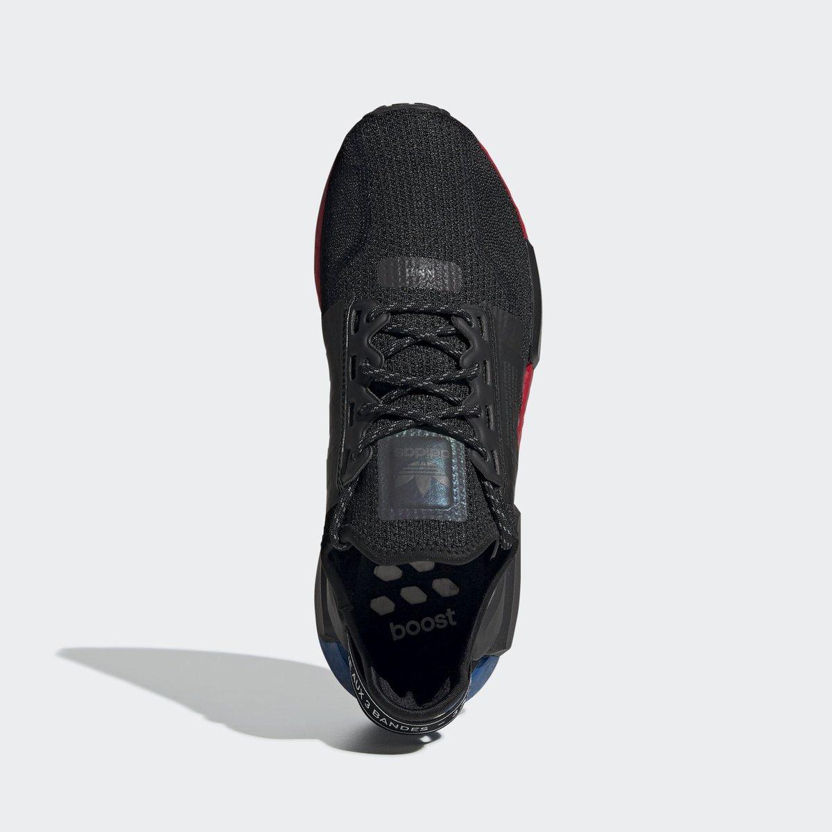 adidas,NMD V2, 造型独特的鞋身支撑!全新 adidas NMD V2 系列首度曝光!
